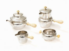 Albert E. Jones, 4-piece Coffee And Tea Service,