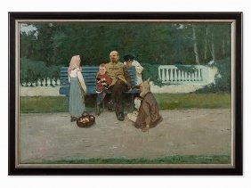 Viktor Grigorevich Sevastyanov, Lenin In The Park,