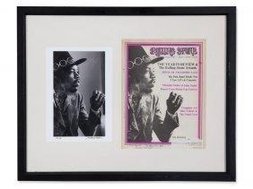 B.wolman, 'jimi Hendrix' Photograph&rolling Stone
