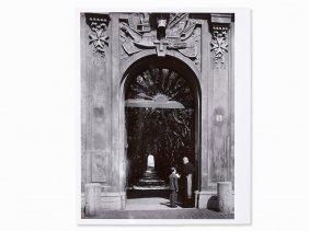 Yousuf Karsh (1908-2002), Bishop Fulton Sheen In Rome,