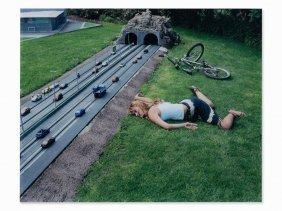 Julia Fullerton-batten (born 1970), Bike Accident,
