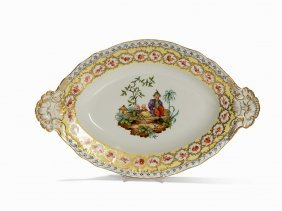 Kpm, Serving Platter, Porcelain, Berlin, 1st Q. 20th C.