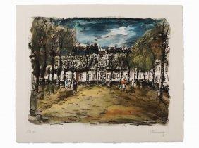Maurice De Vlaminck, After A Grenelle, Photoengraving,