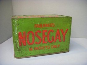 An Unusual Faulkner's 'Nosegay' Rectangular Counter