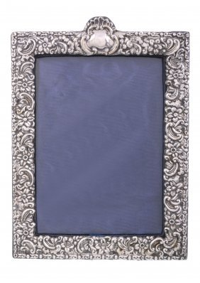 An Edwardian Silver Mounted Photograph Frame By Walker