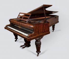 A Grand Piano By John Broadwood & Sons, London, 1859