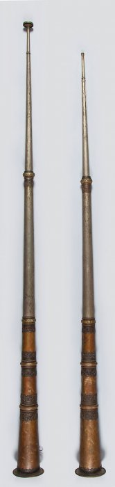A Pair Of Dung-chen , Probably 20th Century
