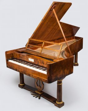 A Grand Piano By Conrad Graf, Vienna, Circa 1820
