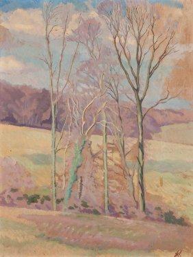 Gilbert Spencer (1892-1979) - Group Of Trees
