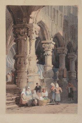 Samuel Prout (1783-1852) - At Liege