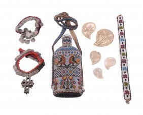 A Collection Of Bulgarian Folk Art, Including