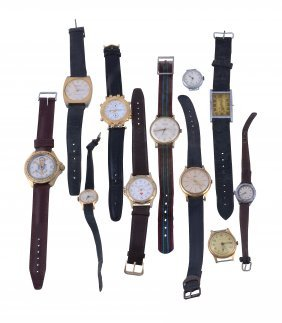 A Collection Of Gentlemens And Ladies Wristwatches,