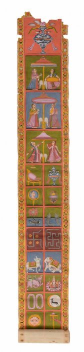 An Illustrated Manuscript, Rajasthan, 19th Century,