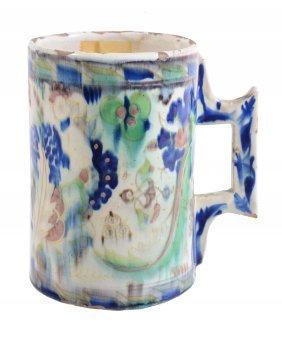 A Cantagalli Maiolica Mug In The Iznik Style, Circa