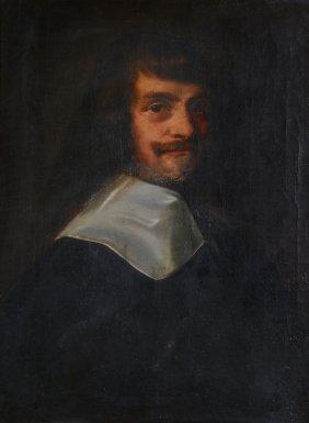 Dutch School (18th Century) - Portrait Of A Gentleman