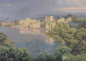 Hugh Melvill Crowther (1914-2003) - Chepstow Castle