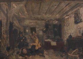 Dutch School (probably 19th Century) - Ransacking The