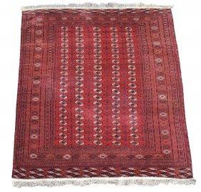 A Tekke Carpet, Approximately 252 X 397cm