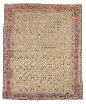 A Senneh Rug , Approximately 194 X 125cm