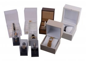 Nina Ricci, A Collection Of Nine Lady's Wristwatches