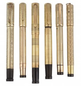 A Selection Of Continental Overlay Safety Pens, To