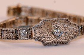 Estate Diamonds Bracelet