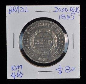 Brazil Silver Coin