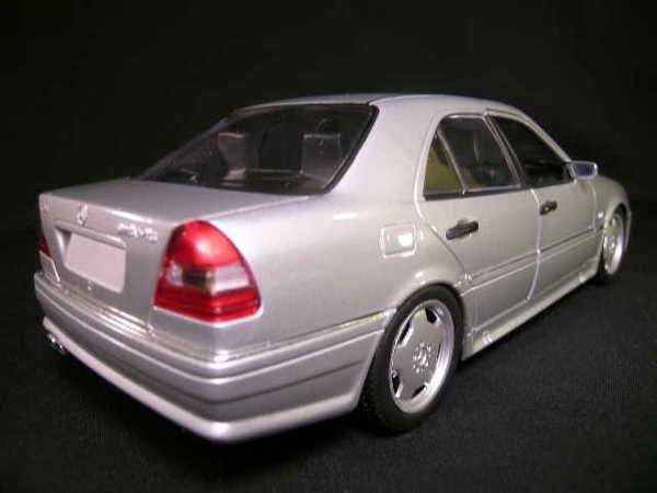 823 1 18 mercedes benz c class gray u t models car lot 823 for Mercedes benz c class t model