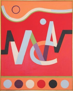 Bart Perry California Modernist Abstract
