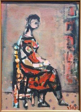 Yaacov Wexler Israeli Latvian Painting