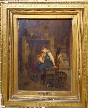 Paul Guillaume Seignac (1826-1904) Oil Painting