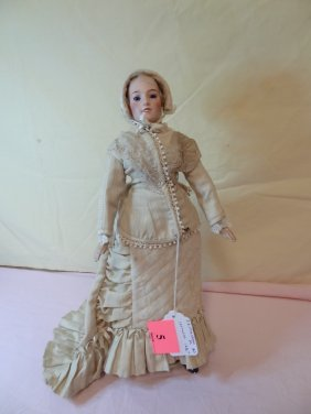 16 1/2'' COMPOSITION DOLL, MARKED JE MASSON #0 ''LOR