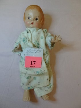 14'' EFFANBEE ''PATSY'' MARKED PAT. PEND. DOLL WITH