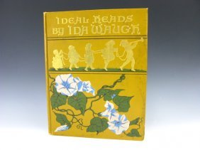 1890 IDA WAUGH BOOK Ideal Heads, SUNSHINE PUBLISHI