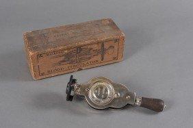 QUACK MEDICAL MACAURA'S BLOOD CIRCULATOR & BOX
