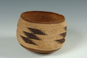 A HUPA BASKETRY HAT