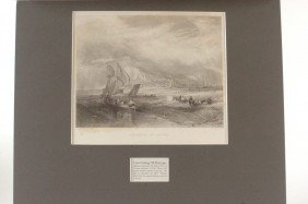 THREE 19TH C. J.M.W. TURNER LITHOGRAPH AND ENGRAVING