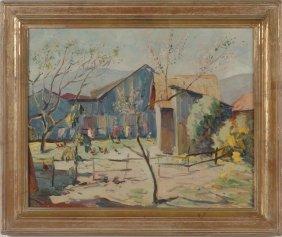 VLADIMIR PERFILIEFF (1895 -1943 ) OIL ON CANVAS
