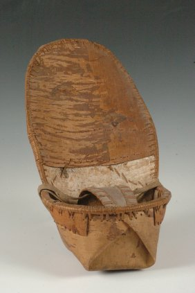 A KUTCHION BIRCH BARK CRADLE
