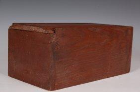 SLIDING LID CANDLE BOX