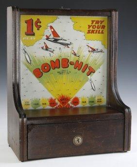 1942 Baker Novelty 'bomb-hit' Trade Stimulator