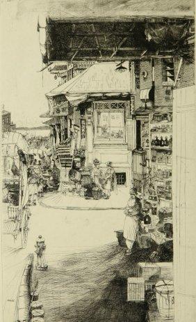 John Winkler (1890-1979) Pencil Signed Drypoint Etching