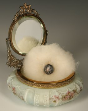 An Unusual Wavecrest Mirror Tray