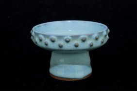 Chinese Song Porcelain Brush Pot