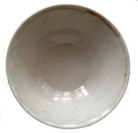 Chinese White Glazed Lotus Bowl