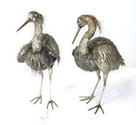 Possible Pr Buccellati Silver Cranes