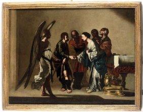 Bernardo Cavallino (napoli 1616 - 1656), Matrimonio Di