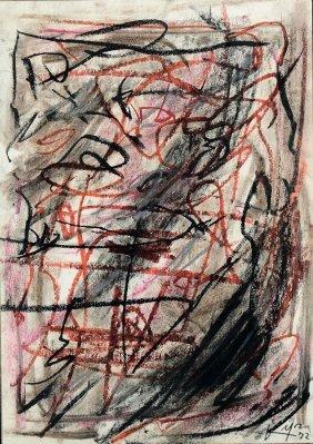 Emilio Vedova (1919-2006), Senza Titolo, 1972