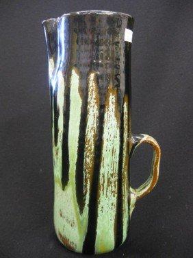Cole North Carolina Pottery Tankard,