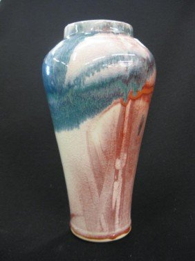 Studio Art Pottery Vase,